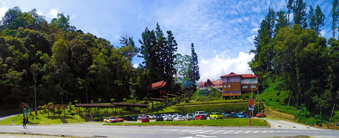 background information of kinabalu park