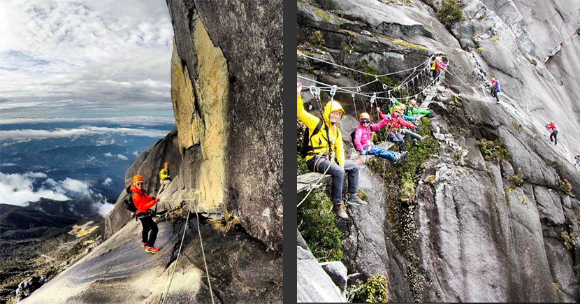 Low's Peak Circuit Ferrata Mt Kinabalu Suspension Bridge